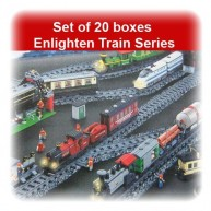 Set of 20 Enlighten Train Series