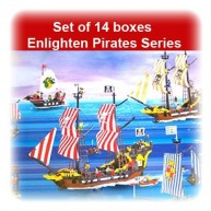 Set of 14 boxes Enlighten Pirate Series