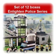 Set of 12 boxes Enlighten Police Series