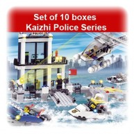 Set of 10 boxes Kaizhi Police Series