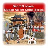 Set of 9 boxes Sluban Acient China Series