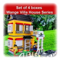 Set of 4 boxes Wange Villa House Series