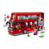 Double Decker Bus /Red