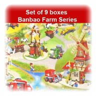 Banbao Farm Set of 9 Boxes