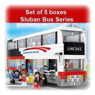 Sluban Bus Set of 5 Boxes