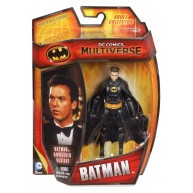 Batman 1989 Michael Keaton Unmasked Edition - DC Multiverse / 4-inch figure