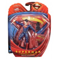 Superman with Kryptonian Key - Man of Steel / Movie Masters 6-inch figure