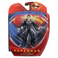 Superman with Black Suit - Man of Steel / Movie Masters 6-inch figure
