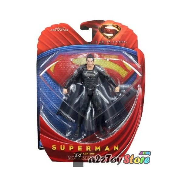 Black Suit Superman Man of Steel Superman With Black Suit Man