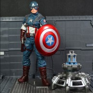 Captain America First Avenger (loose figure) - Marvel Select / 7.5-inch action figure