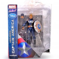 Unmasked Captain America 2 Movie The Winter Soldier - Marvel Select / 7-inch action figure