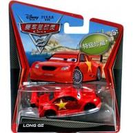 Disney Pixar Cars Super Chase #2 Chinese Race Car Long Ge Diecast Vehicle