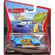 "Disney Pixar Cars Super Chase Swedish Racer  Jan ""Flash"" Nilsson Diecast Vehicle"