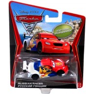 Disney Pixar Cars Super Chase  Vitaly Petrov / Russian Racer Diecast Vehicle