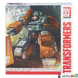 Transformers Hasbro Year Of Goat Platinum Edition Soundwave (MP-13)