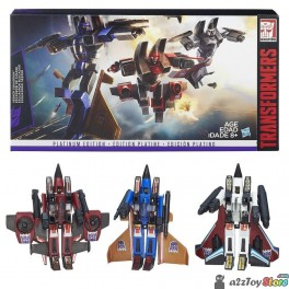 Transformers Platinum Edition Seeker Squadron 3-Pack MISB