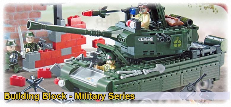 Military series -  Building Block